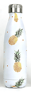 Gourde isotherme 500 ML PERSONNALISABLE (Motif Ananas)