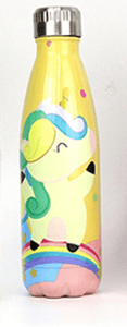 Gourde isotherme 500 ML PERSONNALISABLE (Motif Licorne 1)