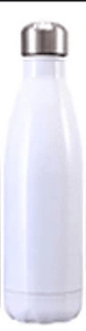 Gourde isotherme 500 ML PERSONNALISABLE (Bright White)