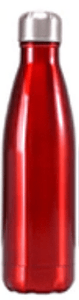 Gourde isotherme 500 ML PERSONNALISABLE (Bright Red)