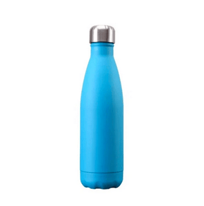 Gourde isotherme 500 ML PERSONNALISABLE (Soft Bleu Lagon)