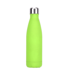Gourde isotherme 500 ML PERSONNALISABLE (Soft Vert Anis)
