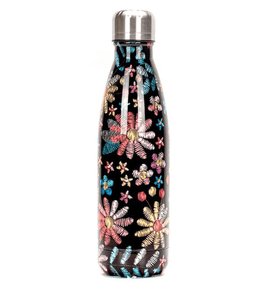 Gourde isotherme 500 ML PERSONNALISABLE (Motif Flower 7)