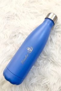Gourde isotherme 500 ML PERSONNALISABLE (Satin Océan)