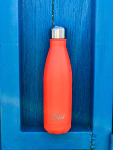 Gourde isotherme 500 ML PERSONNALISABLE (Sweet Orange)