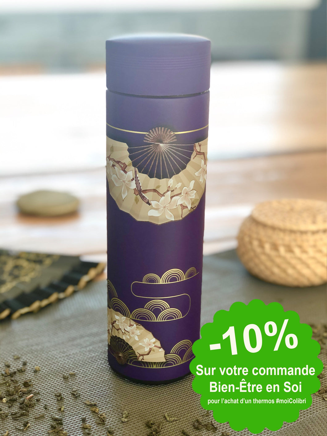 Thermos à thé isotherme 450 ML - Asia Violet