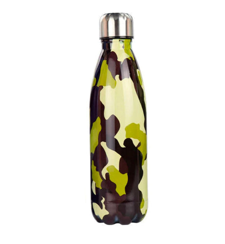 Gourde isotherme 500 ML PERSONNALISABLE (Camouflage 2)