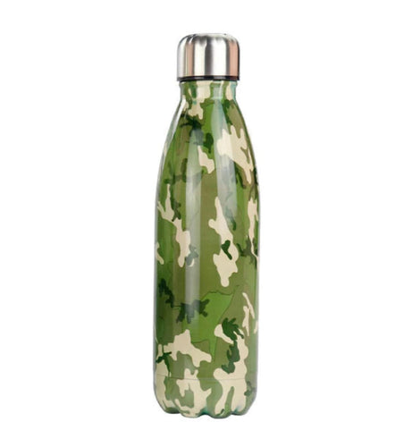 Gourde isotherme 500 ML PERSONNALISABLE (Camouflage 4)