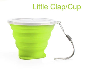 La Clap/Cup Little, gobelet pliable et réutilisable (150 ml)