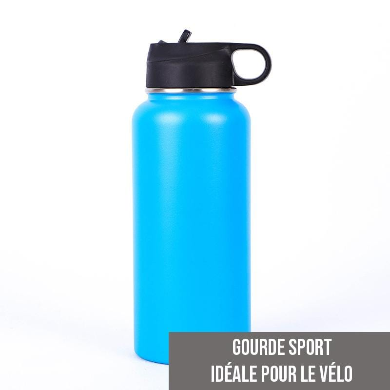 Gourde isotherme Sport 500 ML PERSONNALISABLE (Bleu)