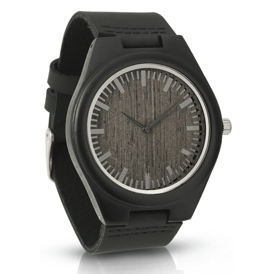 Minimalist Ebony Watch