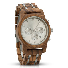 Load image into Gallery viewer, Engraved Wood Watch For Husband - Great Gift!