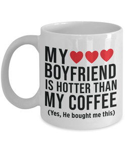 My Boyfriend Is Hotter Than Coffee