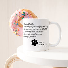 Load image into Gallery viewer, Custom Dog Name Mug