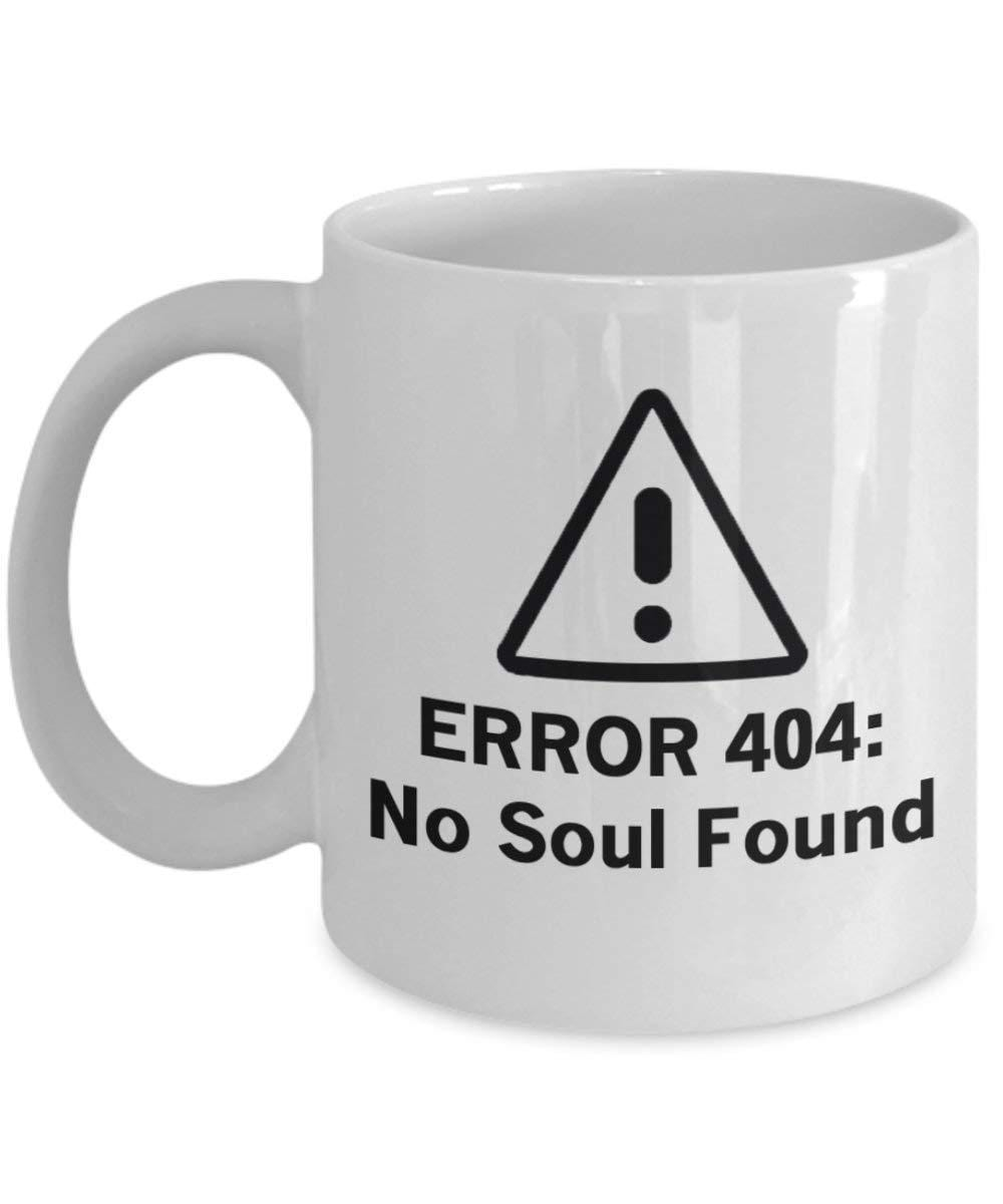 Error 404: No Soul Found
