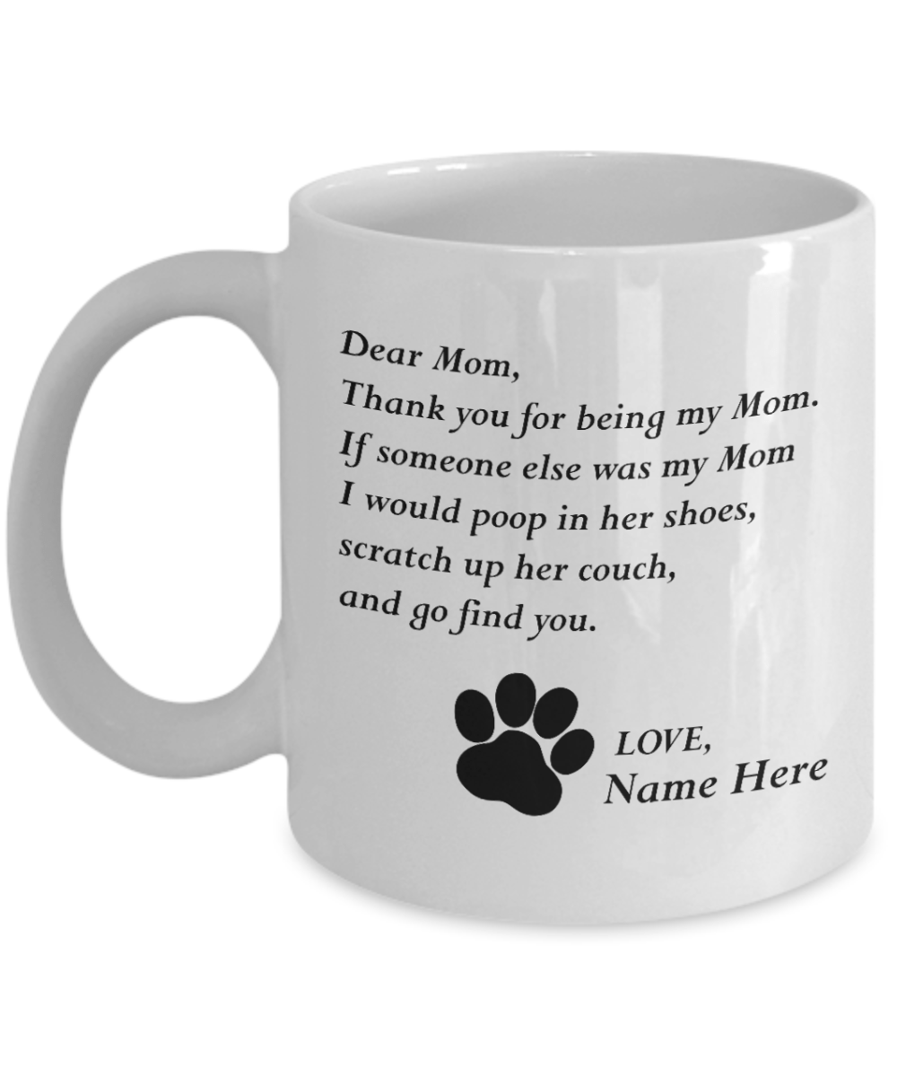 Custom Cat Name Mug