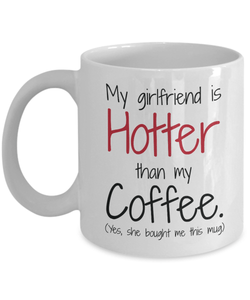 My Girlfriend Is Hotter Than Coffee
