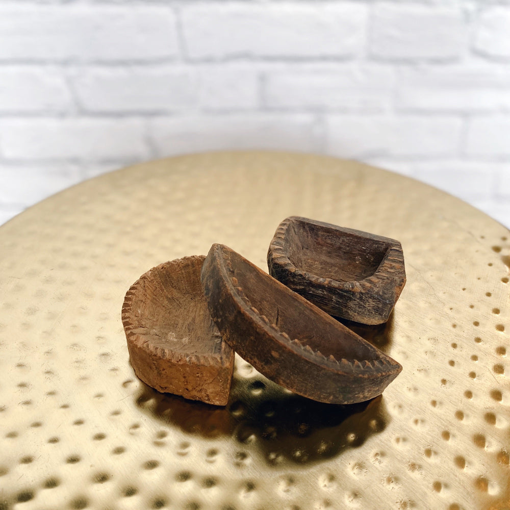 Wooden Spice Bowl, Small