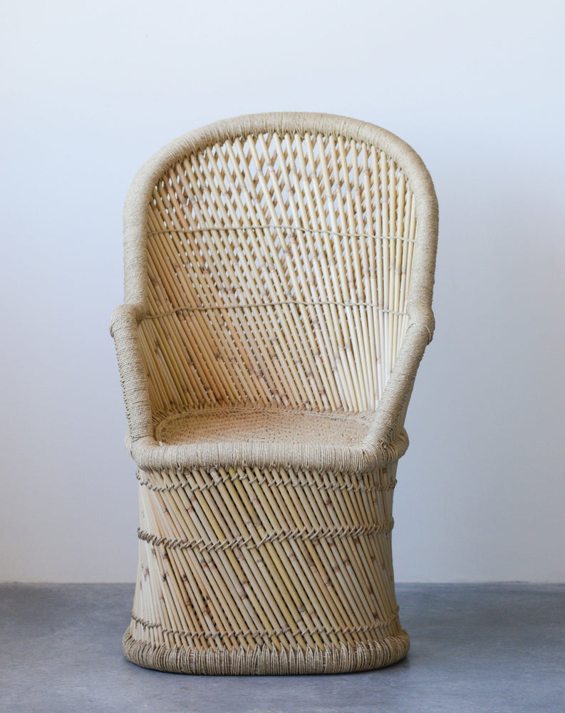 Handwoven Bamboo Chair