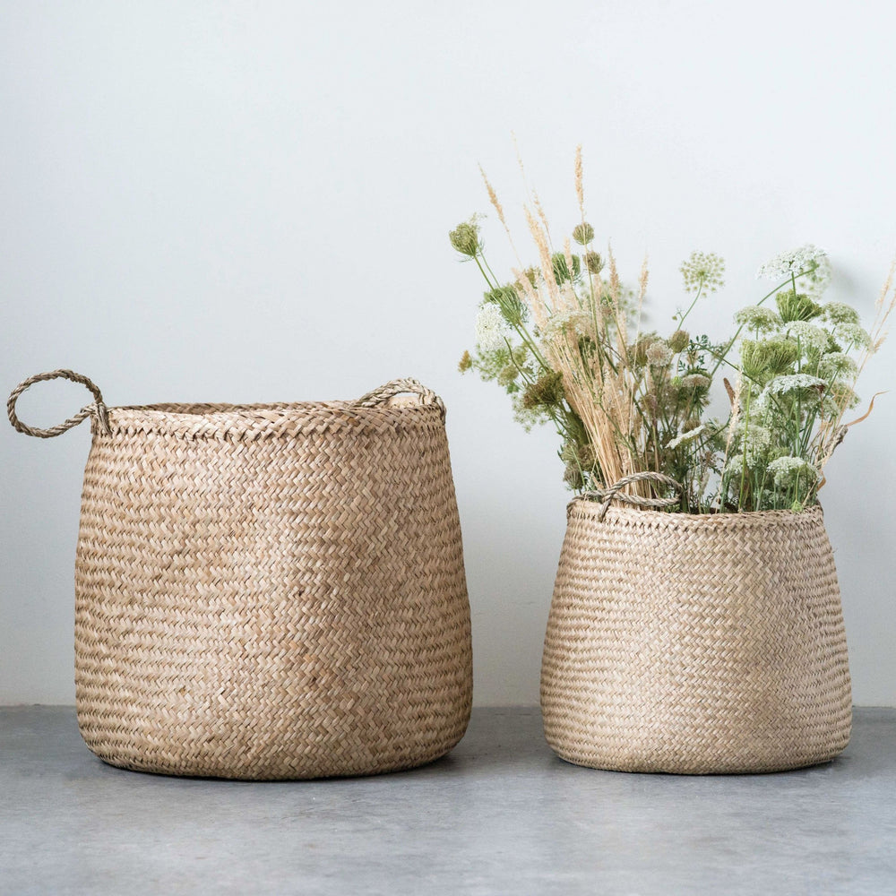 Set of Seagrass Baskets