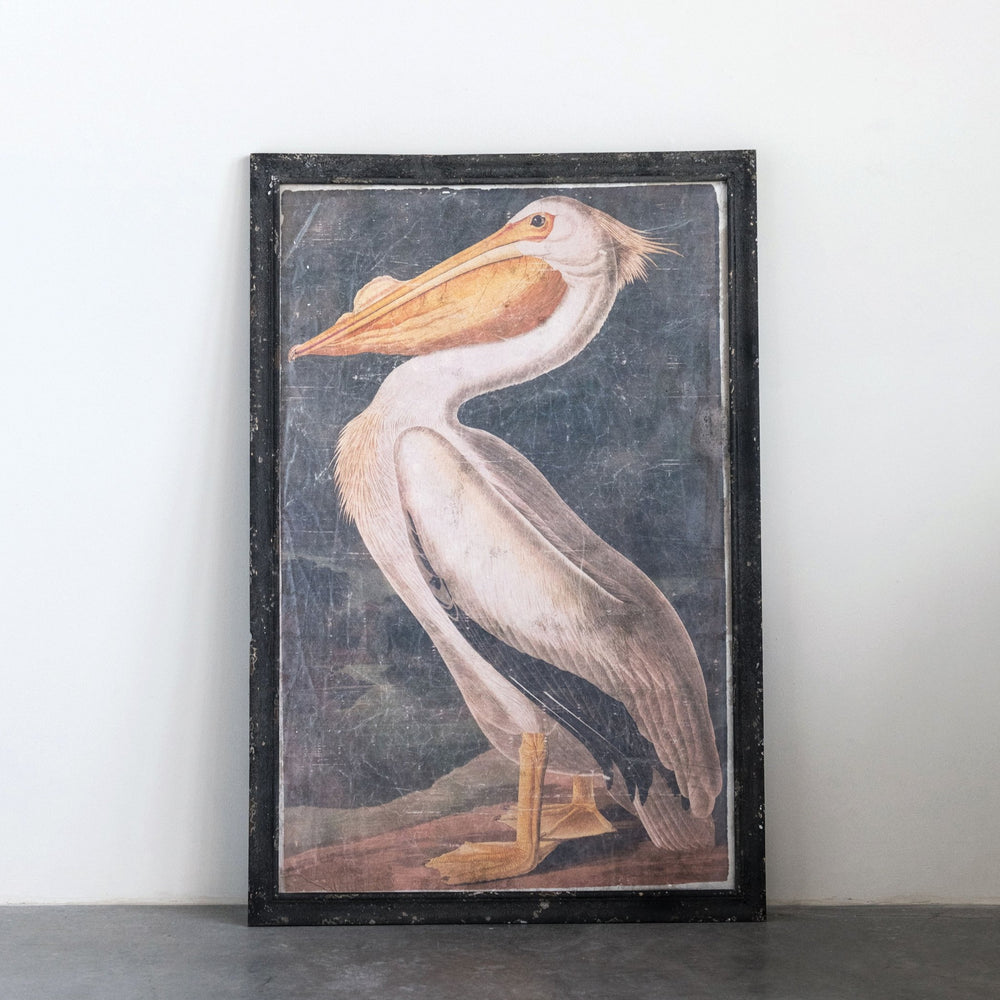 Load image into Gallery viewer, Vintage Pelican Wall Art