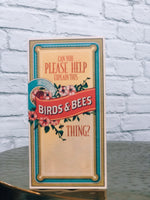 Birds & Bees Card