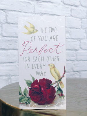 YOU TWO ARE PERFECT Card