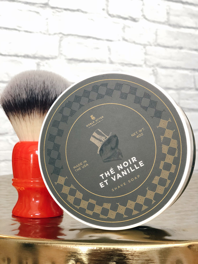 Load image into Gallery viewer, SHAVE SOAP - NOIR VANILLE