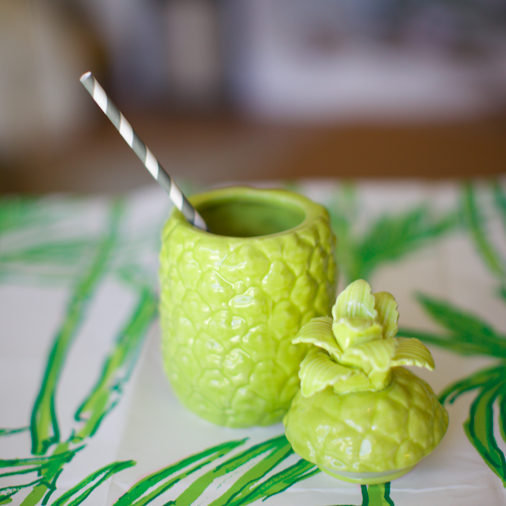 Lime Pineapple Drink Cup