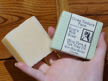 Aloe Vera Tea Tree Oil Goats Milk Soap