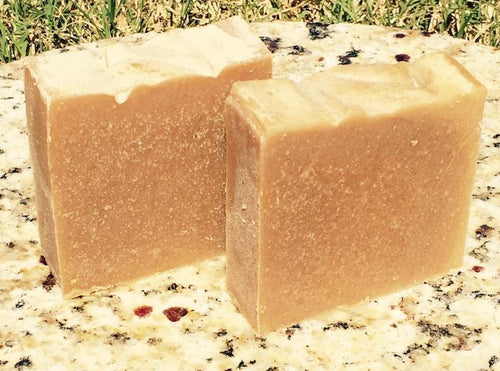 Cocoa Butter, Sandalwood and Olive Oil Goats Milk Soap 5oz