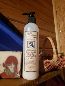 Emu Oil, Honeysuckle Goats Milk Lotion 9oz