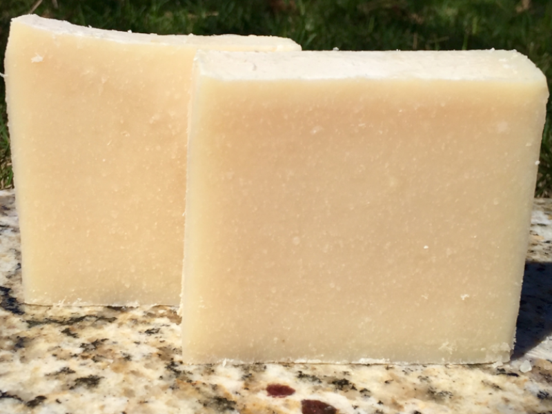 Fragrance Free Goats Milk Soap 5oz