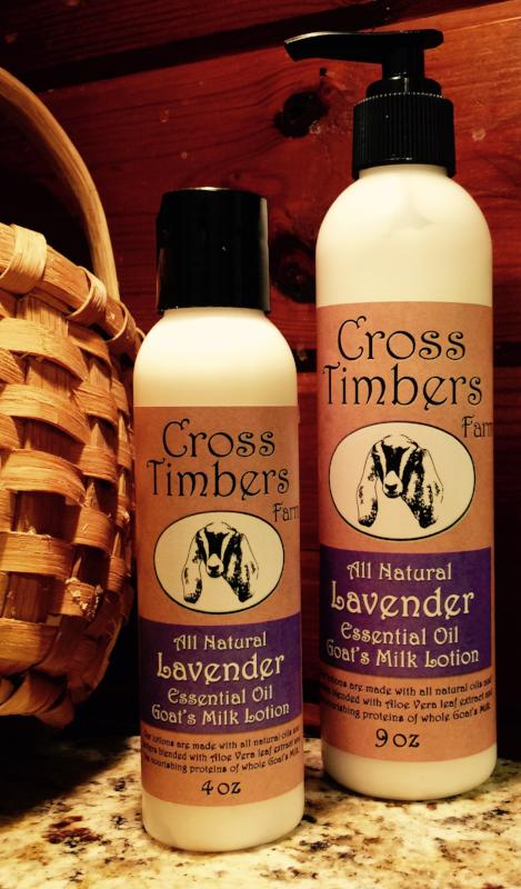 Lavender Essential Oil Goats Milk Lotion 4oz