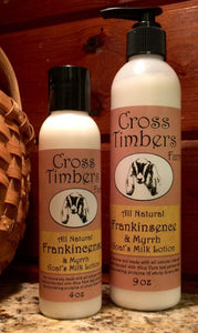 Frankincense and Myrrh Goats Milk Lotion 9oz