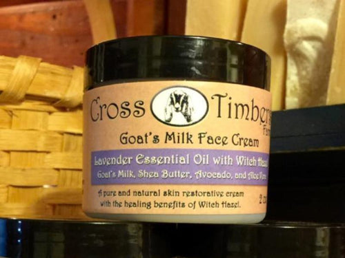 Lavender and Witch Hazel Goats Milk Face Cream 2oz