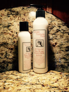 Tea Rose Goat's Milk Lotion 4oz