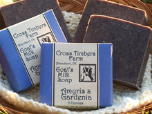 Amyris and Gardenia Goats Milk Soap 5 oz