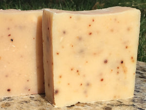 Blueberries and Sweet Cream Goats Milk Soap 5oz