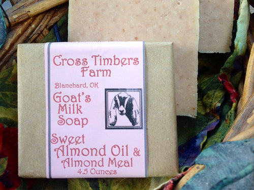 Sweet Almond Meal Goat Milk Soap 5 oz