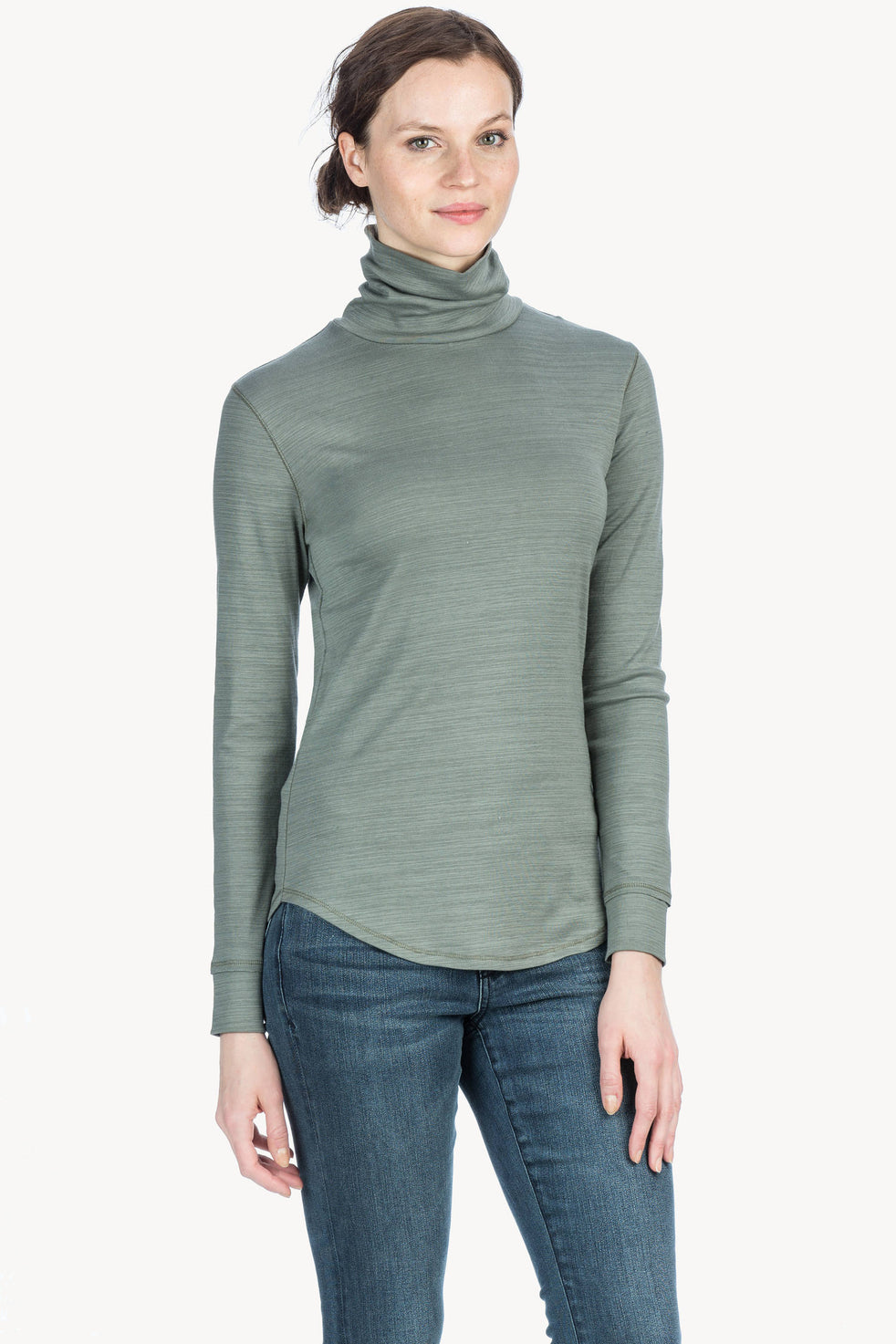 70b170ec7dd Long Sleeve Turtleneck Womens Top Castor A1 ...