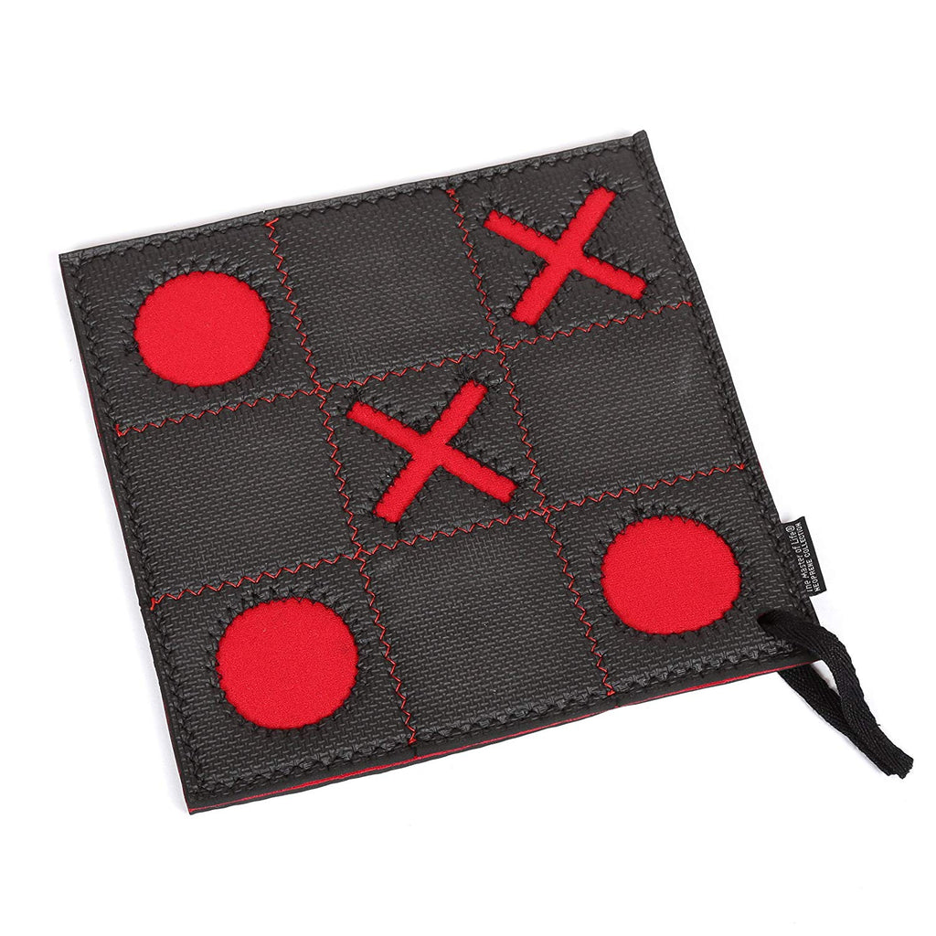 Creative Home Neoprene Square Trivet, Pot Holder - TIC TAC TOE Print