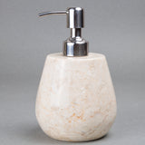 Creative Home Champagne Marble Boulder Liquid Soap Dispenser