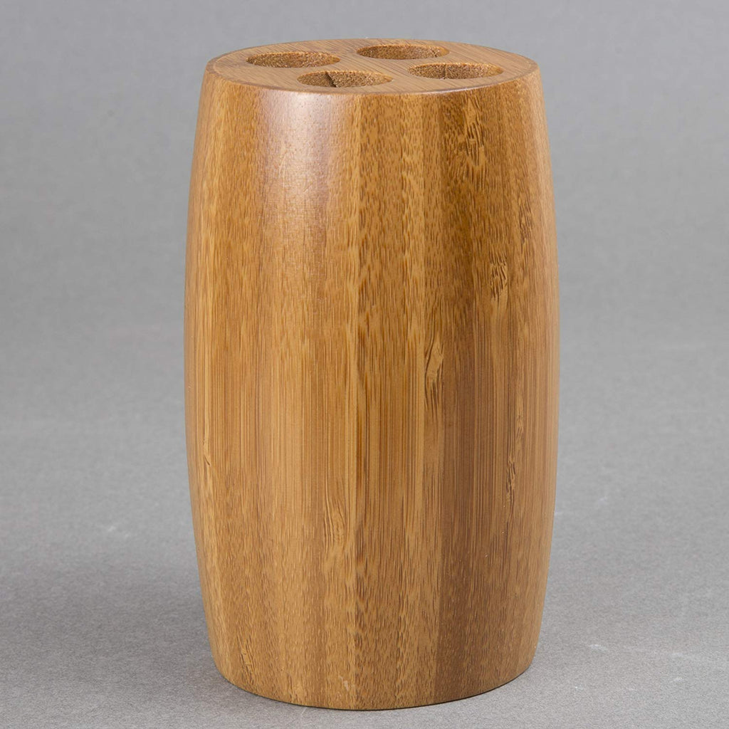 Natural Bamboo Toothbrush Holder