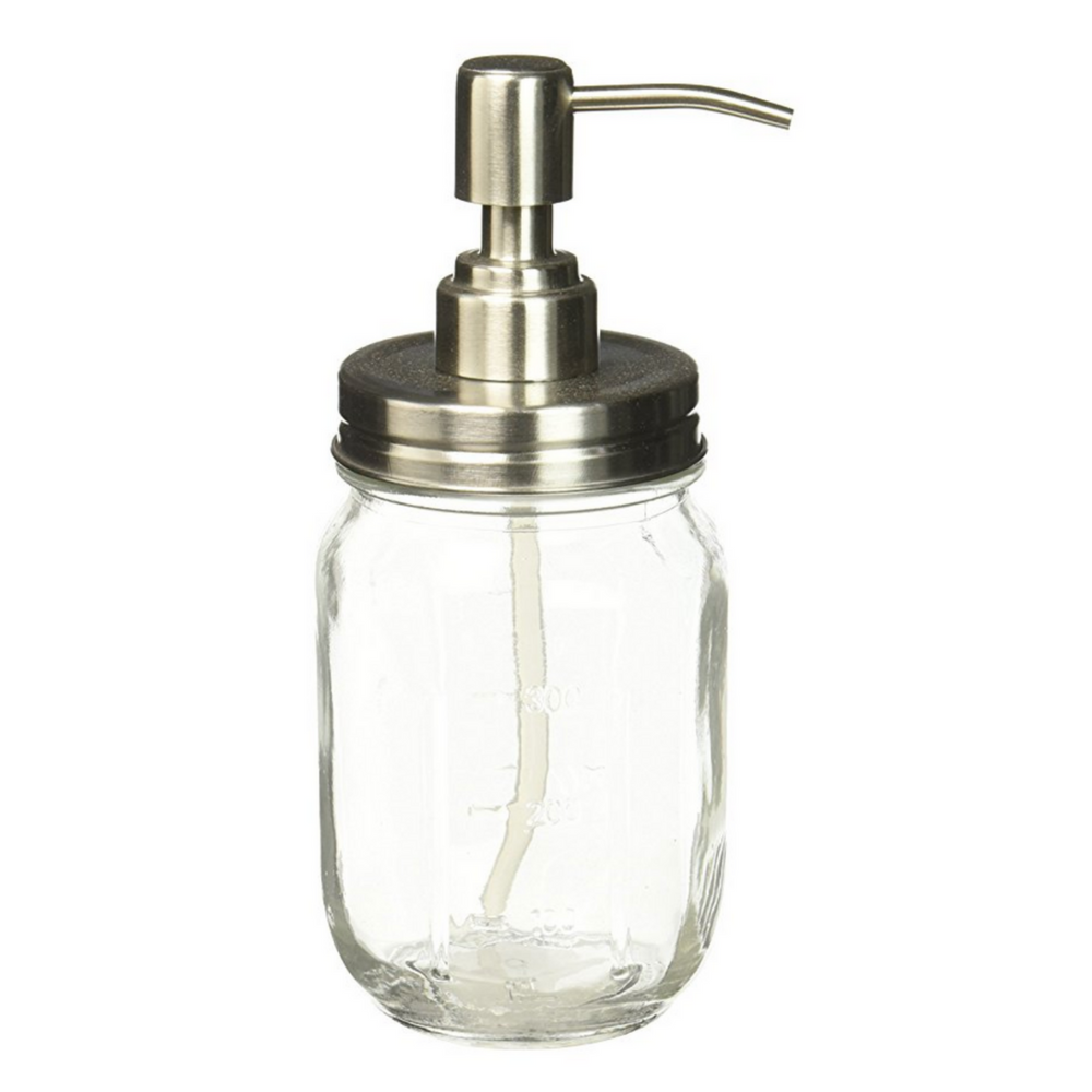 Creative Home Mason Jar Soap Dispenser