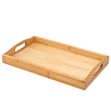 "Creative Home Natural Exotic Bamboo 15.5"" X 9.75"" Serving Tray"