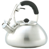Creative Home Savanah 3 Qt Stainless Steel Whistling Tea Kettle - brushed finish