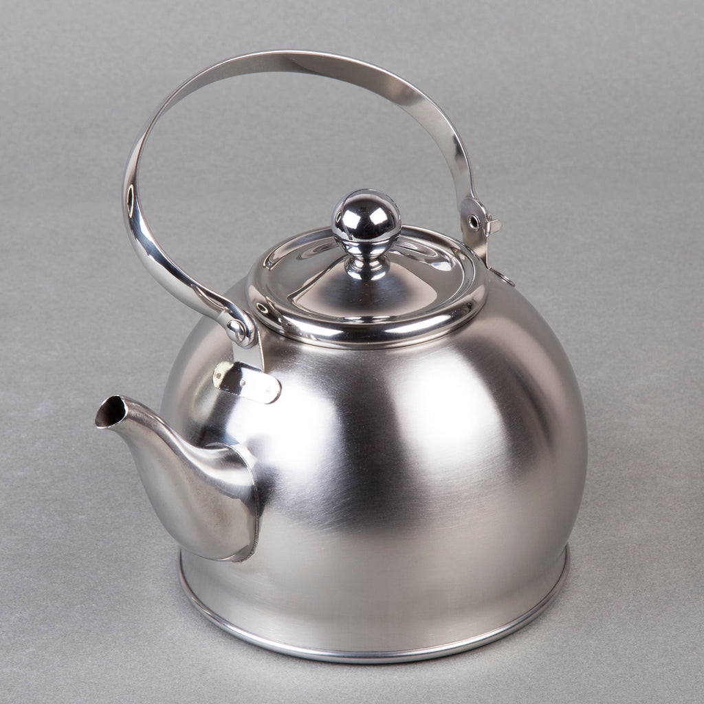Creative Home Royal Stainless Steel Whistling Tea Kettle ,  1 Quart