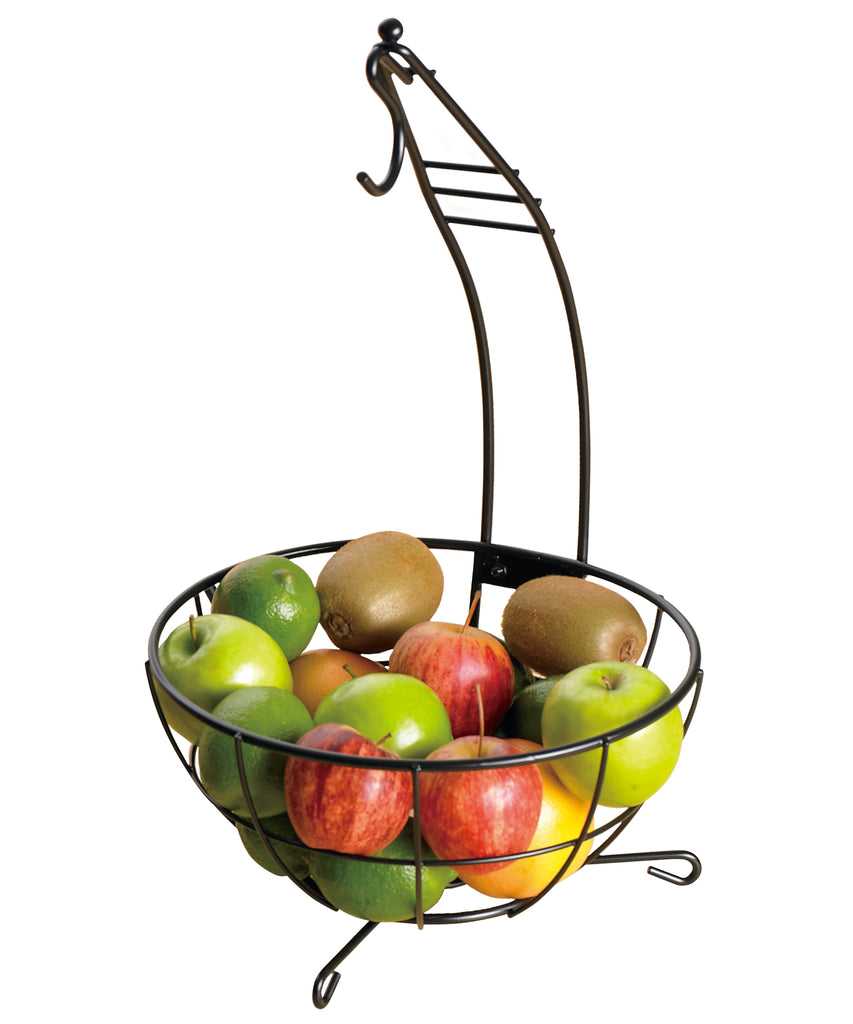 Creative Home Iron Works Deluxe Banana Tree/fruit Basket Bowl