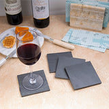 "Creative Home Slate 4"" X 4"" Set of 4 Coaster Set"